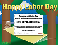 Labor Day Email Special