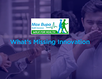 Maxbupa What's Missing Innovation