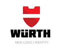WÜRTH - Rebranding logo design