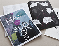 ›Die Hamburger Galerien‹ Magazine Corporate Design