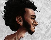 Portrait Digital (A Friend) 2013