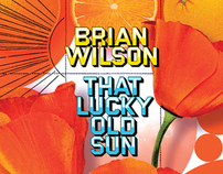 """CAPITOL RECORDS: Brian Wilson """"That Lucky Old Sun"""""""