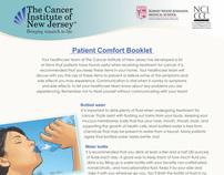UMDNJ Patient Comfort Booklet