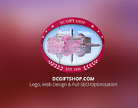 Washington DC Gift Shop | Logo & Web Design