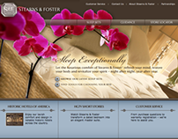 Stearns & Foster Website Redesign