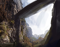 Lots of Environment Paintings