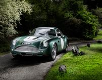 Le Mans '1 VEV' Aston Martin DB4 GT Zagato Shoot