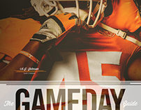 Tennessee Football 2013 Gameday Guide Covers