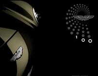 Aston Martin Centenary Brochure Project