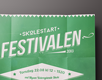 The School Start Festival - Poster Design