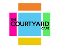 Courtyard Cafe //Logo Process