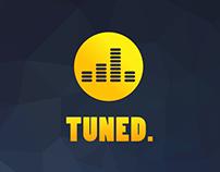 TUNED  |  iPhone app