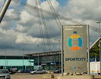 Sportcity Branding & Signage