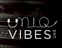 Uniq Vibes Entertainment Branding