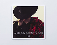 A.T Autumn & Winter 2013 Catalogue