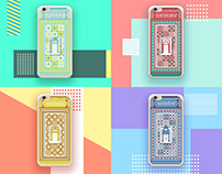 Retro style mobile phone shell design老上海·輕復古手機殼