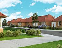 Housing development 3d Visualization