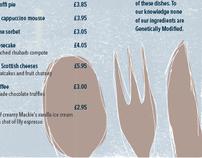 Howies menus