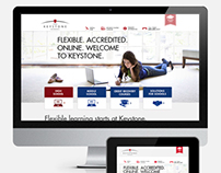 Keystone Online School website