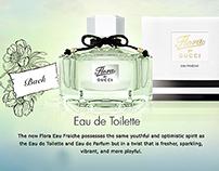 Gucci Flora Perfume site
