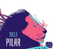Camiseta Pilar 2013