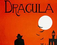 Afiche Dracula (Papercut)
