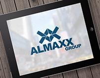 "Creating a logo for a law firm ""Almaxx Group""."