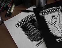 """Creating a logo for taekwondo club """"Tangun""""."""