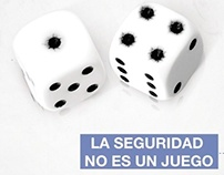 LA SEGURIDAD NO ES UN JUEGO / JOVENES CREATIVOS