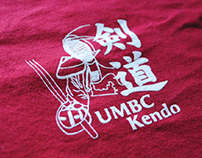 UMBC Kendo T-shirt Design
