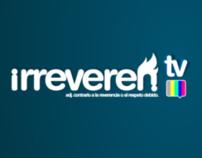 IrreverenTV Logo and Character Design.