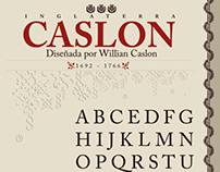 AFiche Adobe Caslon PRO