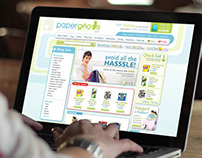 Papergoods.com Website Design