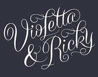 Violetta & Ricky Wedding