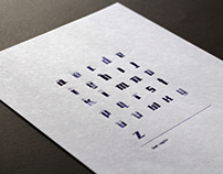 The lost typeface