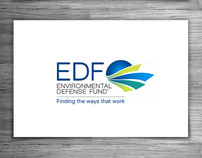ENVIRONMENTAL DEFENSE FUND - Logo Design