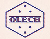 OLECH - typeface