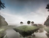 A beautiful misty morning