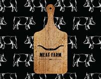 MeatFarm - meat transport company branding