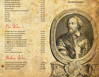 La Valette Band Club Menu