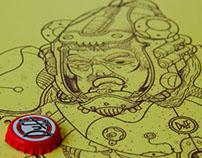 Duff Beer & Pupunha Ink