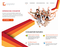 Cognator One Page Website