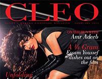 Actors Asser Yassin & Basma Cover & Fashion Shoot