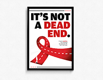 It's not a dead end - Red Ribbon Poster Festival