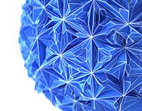 Geometric Abstract 3D Art