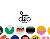 Dito | Sit & Drink - ID Visual e Branding