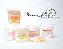 Moonfluf Cotton Candy - Logo and Packaging