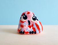 Daisy the Owl Clay Ornament