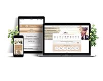 Wedding Day creative web and social media design