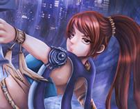 Girl In Battle